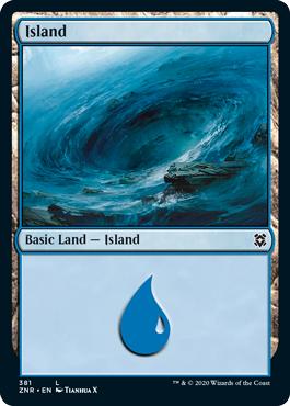 Island (381) - Foil