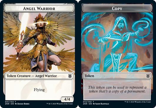 Angel Warrior Token // Copy Token - Foil