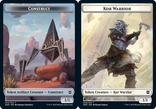 Construct Token // Kor Warrior Token - Foil