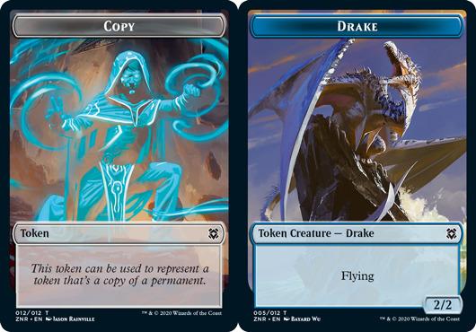 Copy Token // Drake Token - Foil