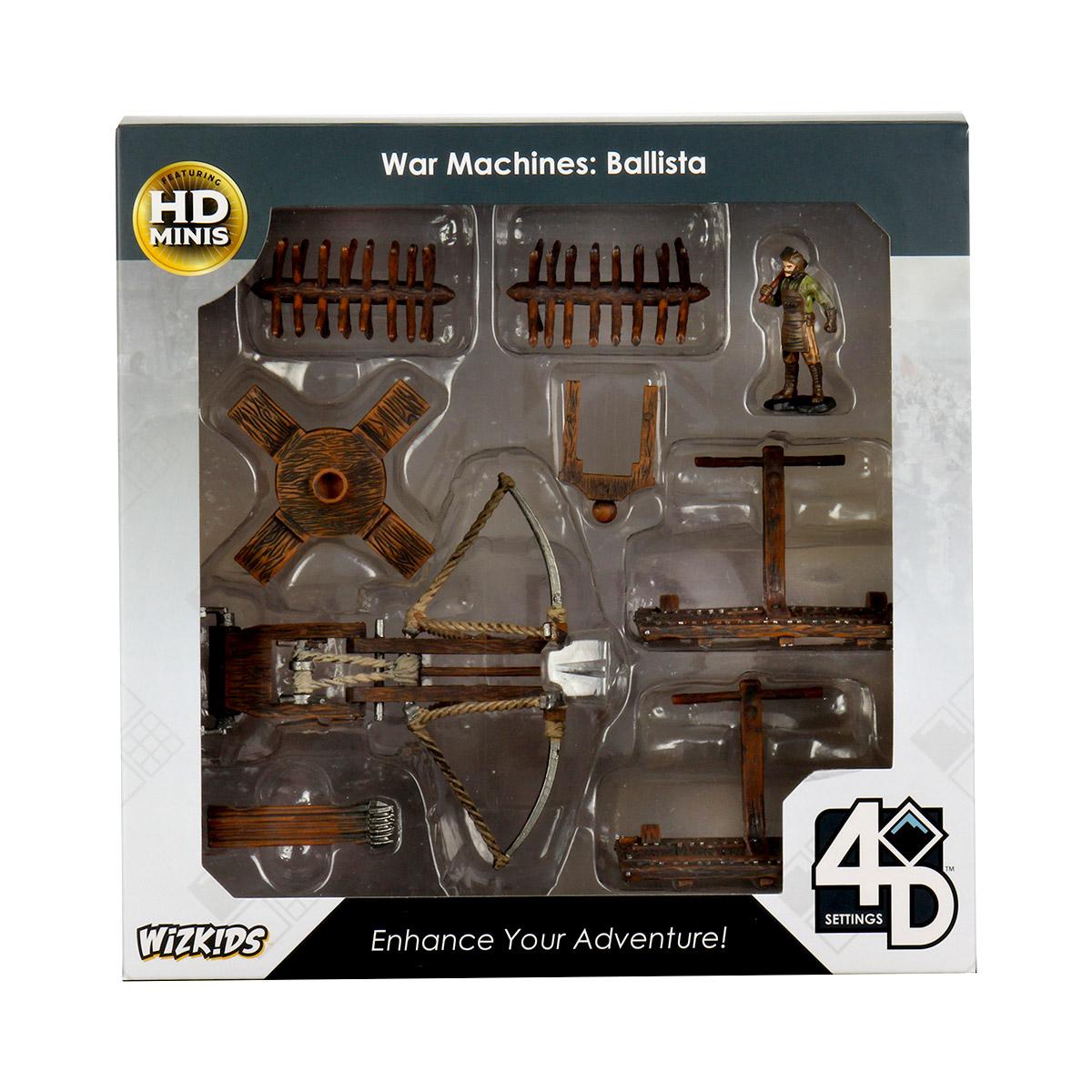 4D Settings: War Machines: Ballista