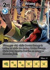Wong: Stephen Strange Memorial Institute