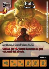 Hulk: Immortal - Foil