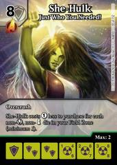 She-Hulk: Just Who You Needed! - Foil