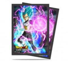 Ultra Pro - Dragon Ball Super: Standard Size Deck Protector 65Ct - God Charge Vegeta