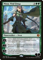 Nissa, Vital Force - Promo Pack