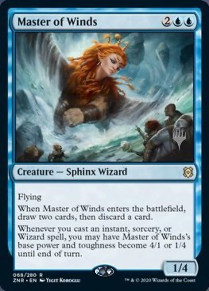 Master of Winds - Promo Pack