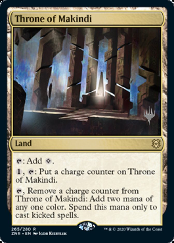 Throne of Makindi - Promo Pack