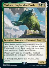 Yasharn, Implacable Earth - Foil - Promo Pack