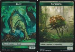 Beast Token // Saproling Token
