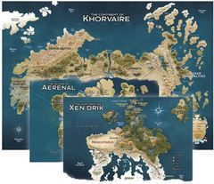 Eberron - Rising From The Last War - Khorvaire Map Set