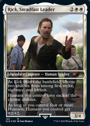Rick, Steadfast Leader - Foil