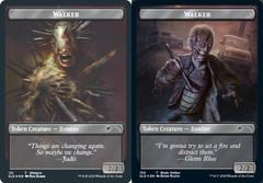 Walker (Winslow) Token // Walker (Blade Walker) Token - Foil