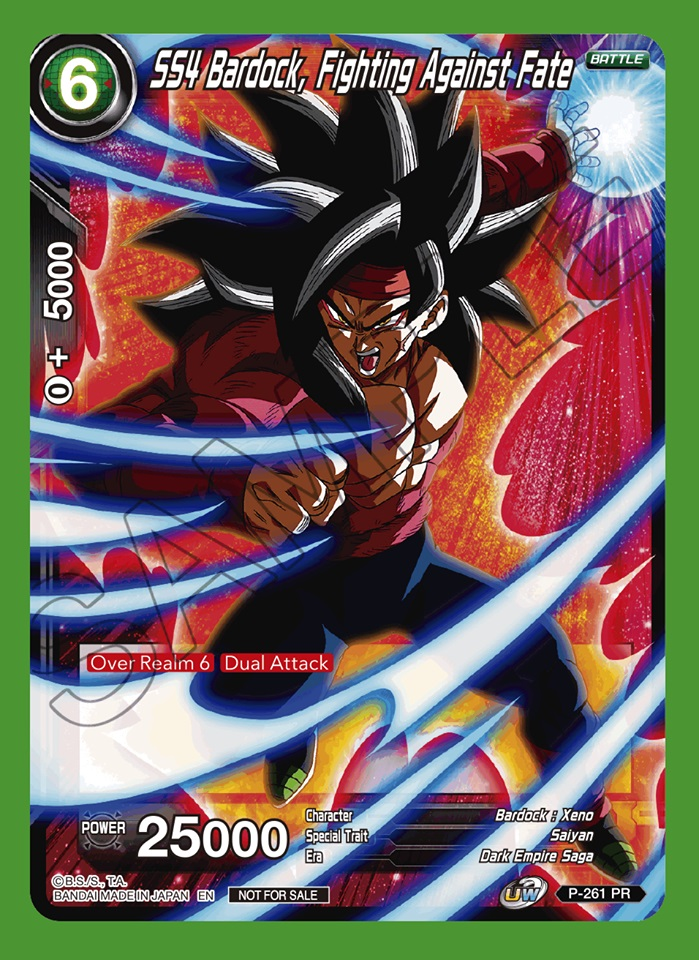 SS4 Bardock, Fighting Against Fate - P-261 - PR