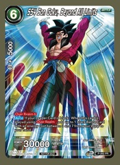 SS4 Son Goku, Beyond All Limits - P-262 - PR