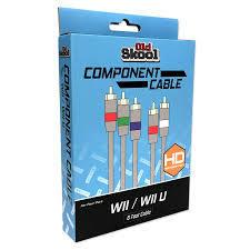 Old Skool Component AV Cable for Nintendo Wii / Wii U