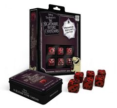 USAopoly - The Nightmare Before Christmas Premium D6 Dice Set in Tin
