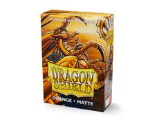 Dragon Shield - Matte – 60 Japanese Size - Orange 'Kurang'