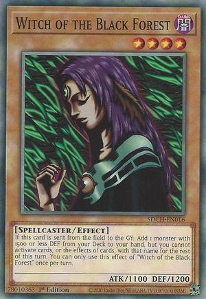 Witch of the Black Forest - SDCH-EN016 - Common - 1st Edition
