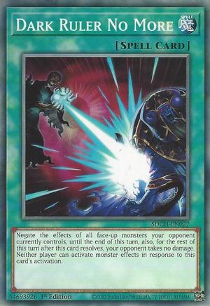 Dark Ruler No More - SDCH-EN027 - Common - 1st Edition