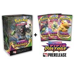 Vivid Voltage PreRelease Ki Plus 3 Booster Packs