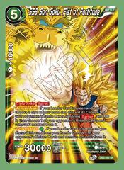 SS3 Son Goku, Fist of Fortitude - DB3-052 - SR