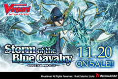 V Booster Set 11: Storm of the Blue Cavalry Booster Case