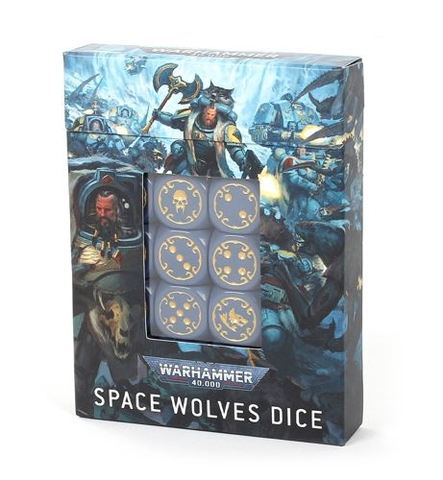 Space Wolves - Dice Set (53-27)