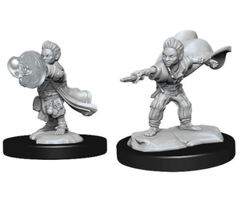 Pathfinder Battles Deep Cuts: Male Halfling Wizard (Wave 14)
