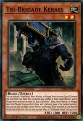 Tri-Brigade Kerass - PHRA-EN007 - Super Rare - 1st Edition