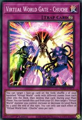 Virtual World Gate - Chuche - PHRA-EN072 - Super Rare - 1st Edition