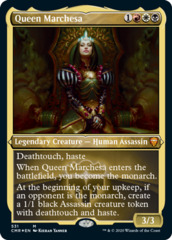 Queen Marchesa - Foil Etched