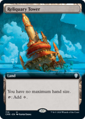 Reliquary Tower - Foil - Extended Art
