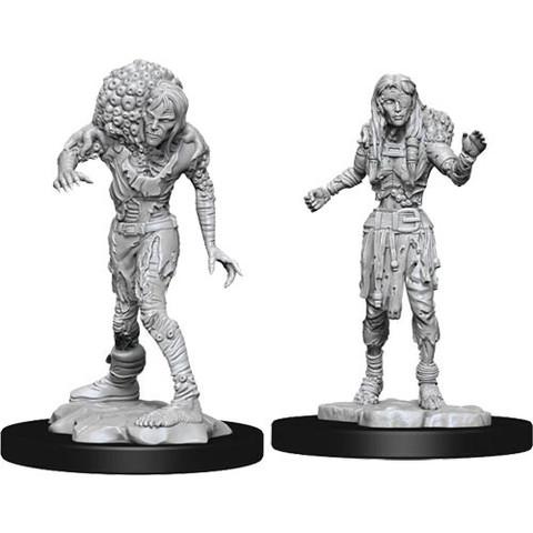 D&D Nolzurs Marvelous Unpainted Miniatures: W14 Drowned Assassin & Drowned Asetic