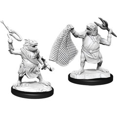 D&D Nolzur's Marvelous Unpainted Miniatures: W14 Kuo-Toa & Kuo-Toa Whip