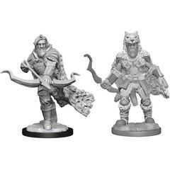 D&D Nolzur's Marvelous Unpainted Miniatures: W14 Male Firbolg Ranger