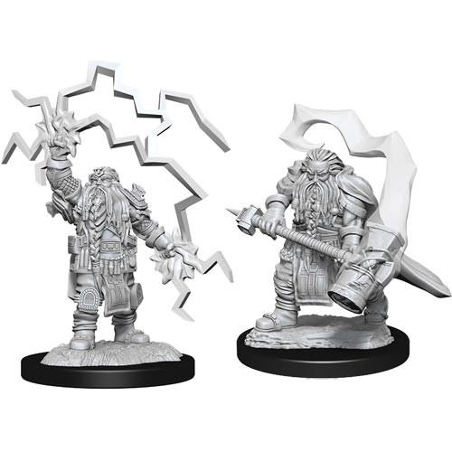 D&D Nolzurs Marvelous Unpainted Miniatures: W14 Male Dwarf Cleric