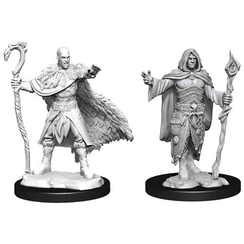 D&D Nolzurs Marvelous Unpainted Miniatures: W14 Male Human Druid