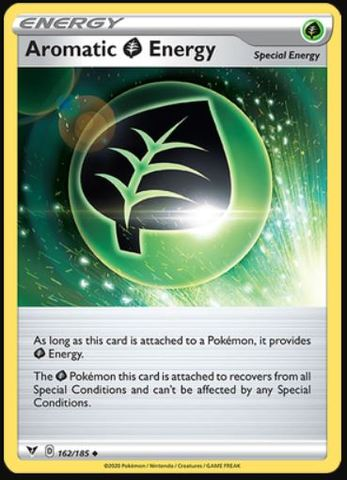 Aromatic Grass Energy - 162/185 - Uncommon
