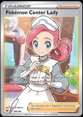 Pokemon Center Lady - 185/185 - Full Art Ultra Rare
