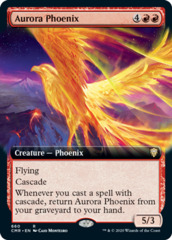 Aurora Phoenix - Extended Art