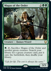Magus of the Order - Foil
