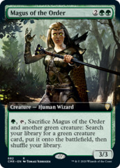 Magus of the Order - Foil - Extended Art