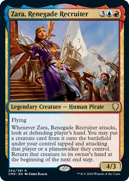 Zara, Renegade Recruiter