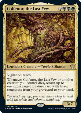 Colfenor, the Last Yew - Foil