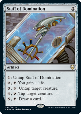 Staff of Domination - Foil