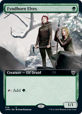 Fyndhorn Elves (Extended Art)