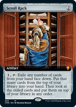 Scroll Rack (Extended Art)