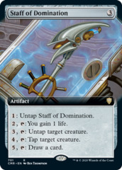 Staff of Domination (Extended Art)(CMR)