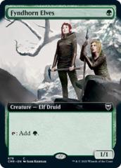 Fyndhorn Elves - Foil - Extended Art